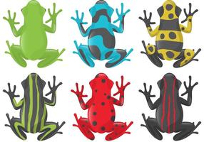 Vecteurs Pochoir Frog
