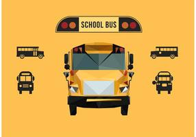 Autobus scolaire vecteur gratuit