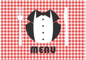 Conception de carte de carte de menu gratuite vecteur