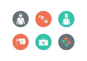 Icônes vectorielles médicales gratuites