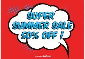 Illustration Comic Style Sale