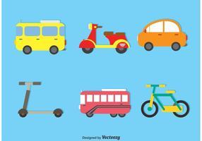 Ensemble vectoriel de transport