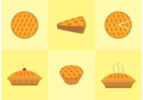 Vecteur de tarte aux pommes gratuit