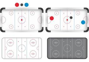 Vecteurs de patinage de hockey