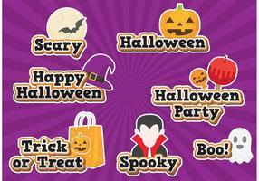 Vecteurs de Halloween vecteur