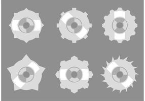 Vecteurs de collection Gear