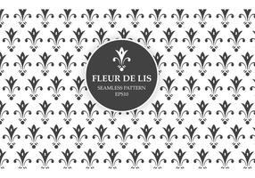 Free Seamless Pattern Fleur De Lis vecteur