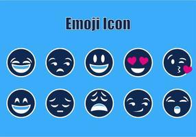 Vecteurs d'icônes d'emoji gratuits vecteur