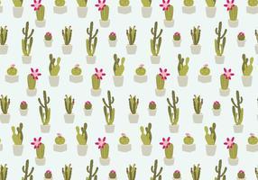 Patron de cactus sans couture