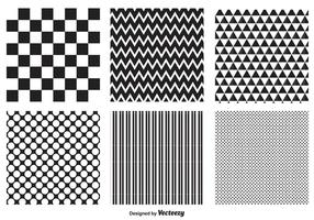 Ensemble de motifs géométriques vecteur