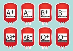 Vecteurs de sang IV vecteur