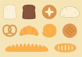 Vecteurs de pain traditionnels