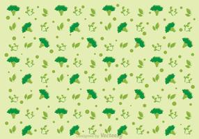 Vecteur de motif de brocoli