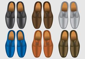 Chaussures Homme élégant vecteur