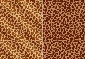 La girafe libre imprime un vecteur