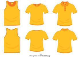 Modèle de vêtement vecteur