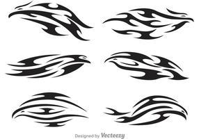 Vecteurs de logo tribal hawk vecteur