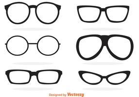 Vecteur de lunettes de soleil rétro