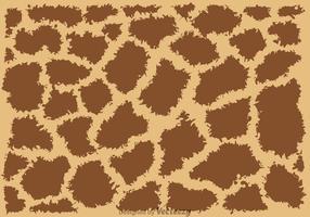 Motif sans couture de girafe vecteur