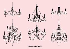 Ensemble de chandelier en cristal gratuit