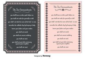 Fondements de dix commandements
