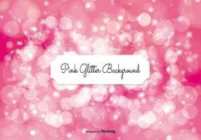 Illustration d'arrière-plan rose glitter vecteur