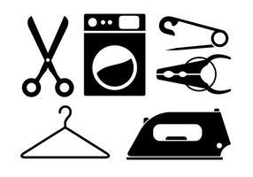 Icônes vectorielles domestiques