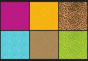 Vecteurs d'impression léopard