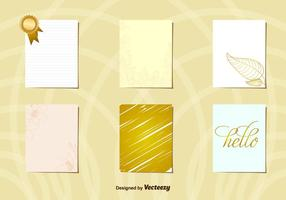 Disposition des cartes postales Gold Gold