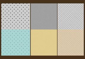 Textures en dentelle vecteur