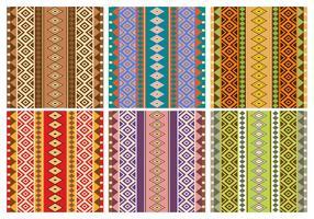 Patterns aztèques gratuits vecteur
