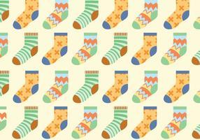 Modèle de chaussettes vectorielles vecteur