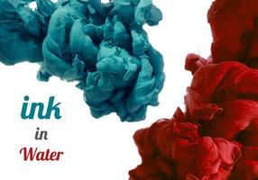 Ink Free In Water Vector