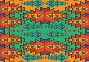 Vecteur de motif aztèque