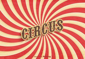 Vecteur d'affiche vieux cirque gratuit