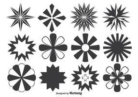 Assortiment de formes de vecteur