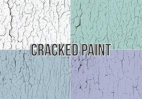 Texture de vecteur de peinture craquelée