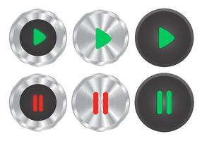 Chrome Cliquez pour jouer des vecteurs vecteur