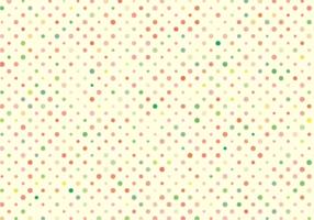 Cute Polka Dots Pattern Free Vector