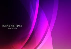 Purple Abstract Vector coloré