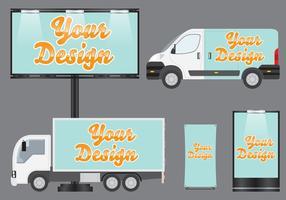 Vecteurs de modèles de marques de véhicules