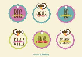 Signes de vente de Thanksgiving