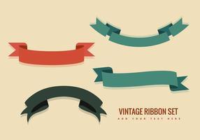 Vecteurs de ruban vintage vecteur