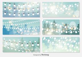 Fond d'écran des lumières de Noël