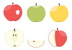 Vecteur de pommes gratuit