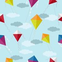 motif de cerf-volant coloré