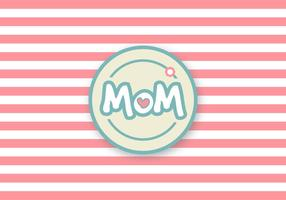Cute Mother's Day Vector