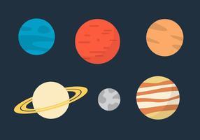 Vecteurs de la planète vecteur