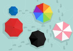 Vecteur de parapluie gratuit