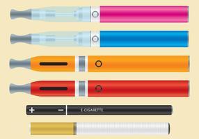 Vaporisateurs et cigarettes électroniques vecteur